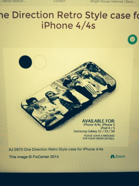 phone cover this same design one direction