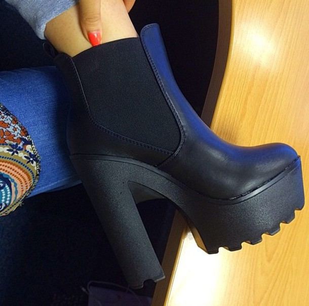 shoes black boots black heels black shoes