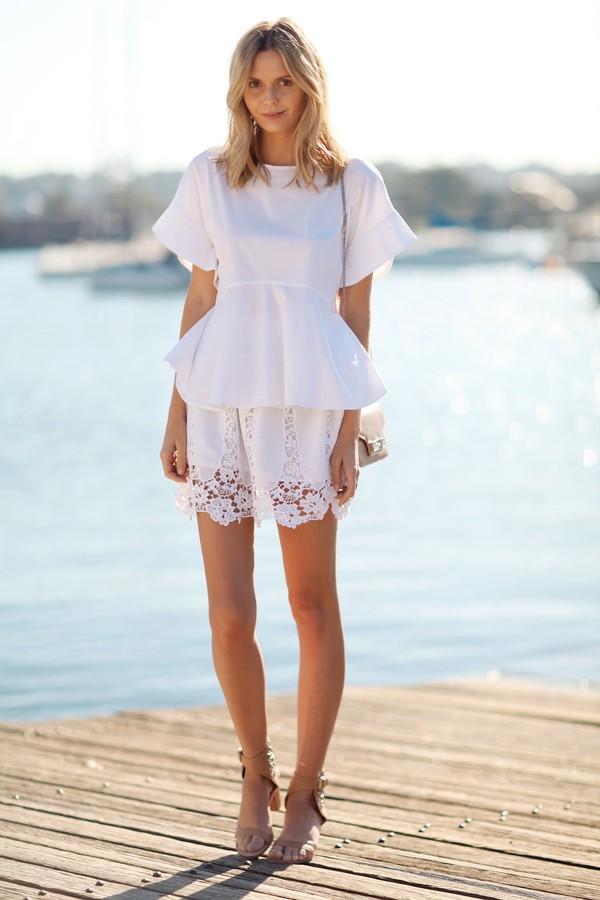 tuula skirt top shoes jewels