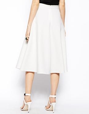 ASOS | ASOS Midi Skirt In Texture at ASOS