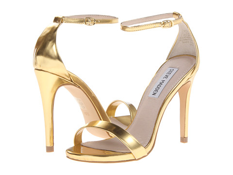 Steve Madden Stecy Gold Foil - Zappos.com Free Shipping BOTH Ways
