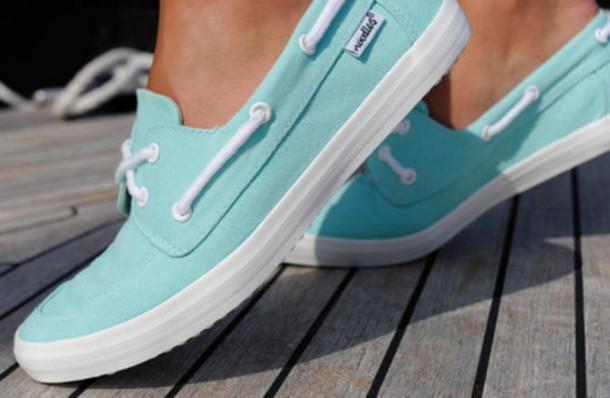 blue shoes shoes blue turquoise bateau