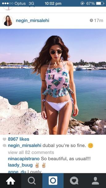 shirt negin dubai beach