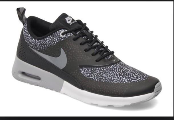 shoes wolf grey print air max women nike air max thea