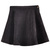 ROMWE | Right Button Black Velvet Skirt, The Latest Street Fashion