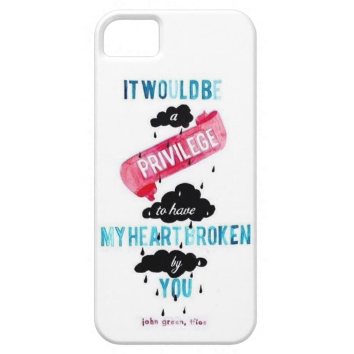 The Fault in our Stars iPhone 5/5s Case from Zazzle.com