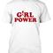 Girl power t-shirt - basic tees shop