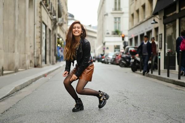 rosa pel's blog t-shirt jacket skirt shoes jewels