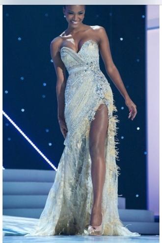 dress silver plume nide pretty amazing gorgeous shiny prom dress silver prom dress