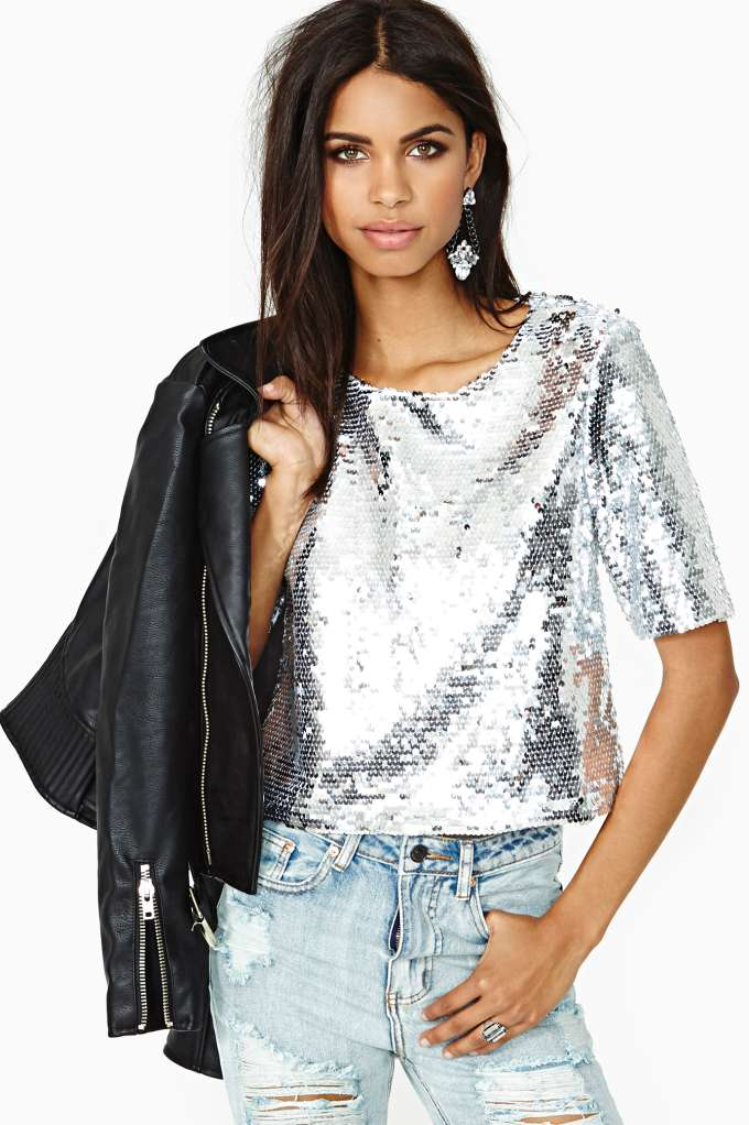 Counting Stars Top in  Clothes at Nasty Gal