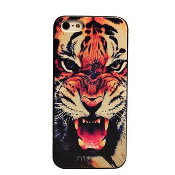 Change New Arrival Tiger Roar Quote Hard Case Back Cover for Iphone 5 5g 5s on Wanelo