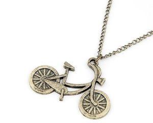 New Design Unique Vintage Bronze Bicycle Pendant Necklace | eBay