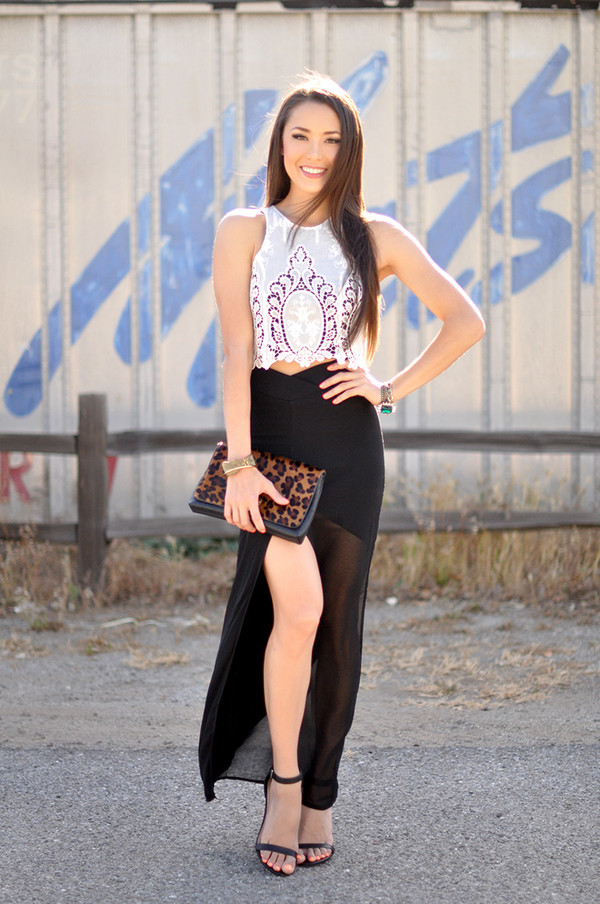 hapa time top skirt shoes jewels bag