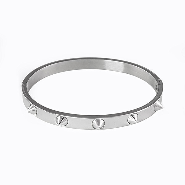 jewels titanium stainless steel spikes bangle stainless steel spikes bangle