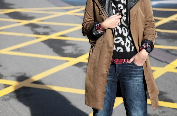 my daily style sweater jeans coat shoes jewels