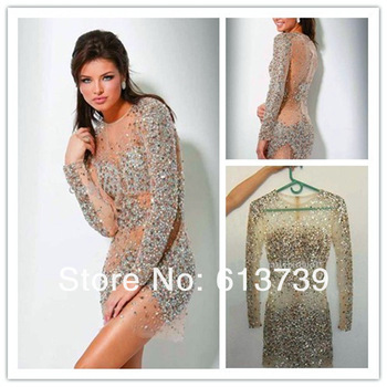 Aliexpress.com : Buy 2014 New Arrival Elie Saab Elegant Runway White NudeTulle Scoop tank Embroidery Long Strap Evening Fromal Celebrity Dresses Sale from Reliable tank mini dress suppliers on Guang zhou angel dress co., LTD
