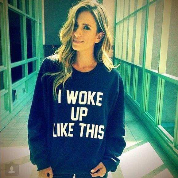 I Woke Up Like This Younce Crew Neck Sweatshirt | eBay