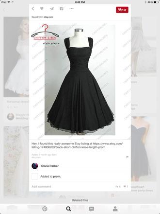 dress black short sleeved