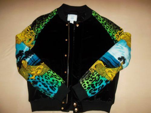 Versace for H M Velvet Bomber Jacket Men Size M Brand New RARE | eBay