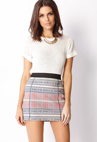 Desert Sands Bodycon Miniskirt | FOREVER 21 - 2000072350