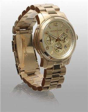Michael Kors | Michael Kors Gold Chronograph Watch at ASOS
