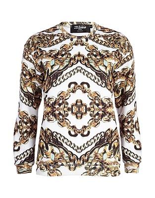 ASOS Fashion Finder | White Jaded London chain print sweatshirt