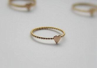 jewels ring gold ring gold jewelry knuckle ring dotted beaded stacked jewelry jewelry hand jewelry fashion jewelry swimwear minimalist jewelry heart