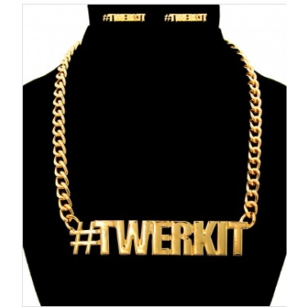 jewels gold dope trill necklace gold chain chain twerk imbossy
