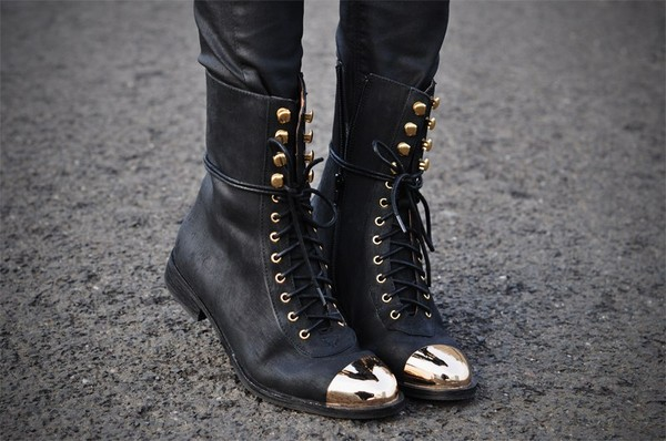 shoes boots black boots