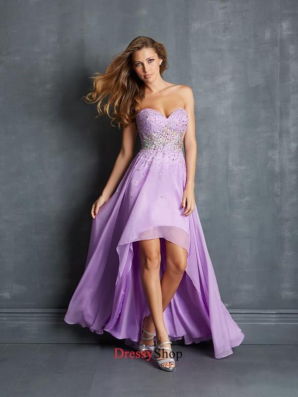 dress prom dress long prom dress hot pink sparkle