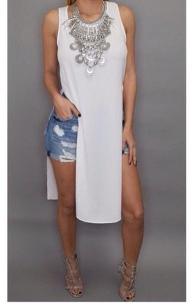 blouse jewels dress