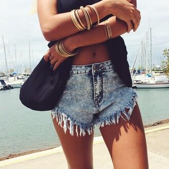 jeans jewels custom denim shorts denim denim vintage levis levi's shorts levi's summer shorts summer pants summer outfits