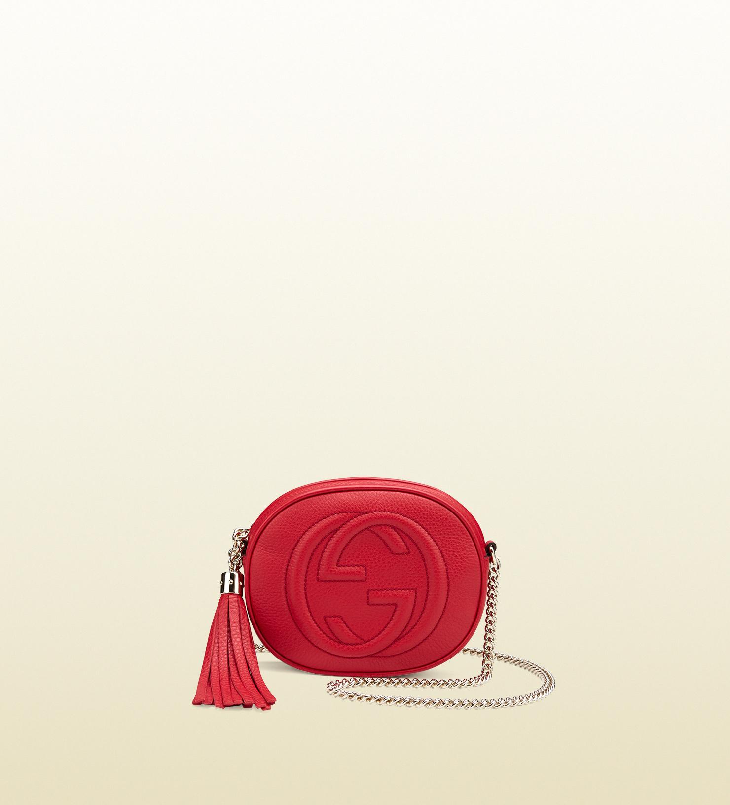 Gucci - soho leather mini chain bag 353965A7M0G6523