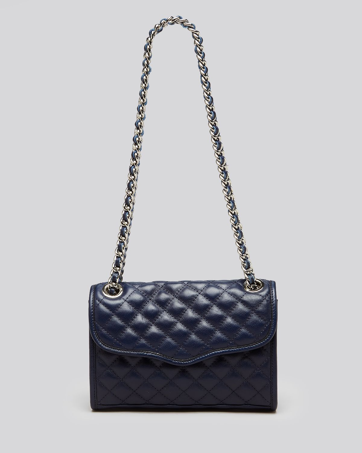 Rebecca Minkoff Shoulder Bag - Diamond Quilt Mini Affair | Bloomingdale's
