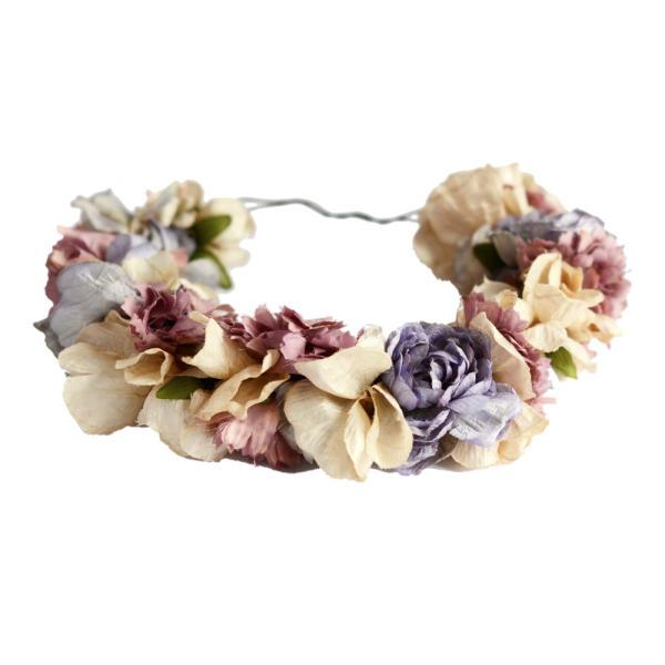 Paradís Flowers Crown Headband   eliurpi