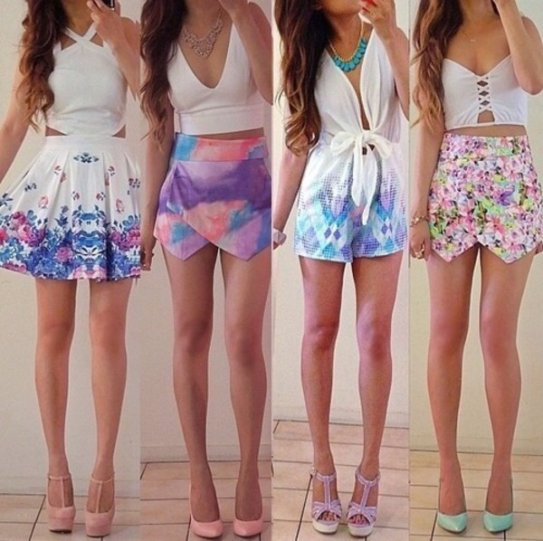 blouse cute outfits shirt skirt tank top shorts dress t-shirt shoes