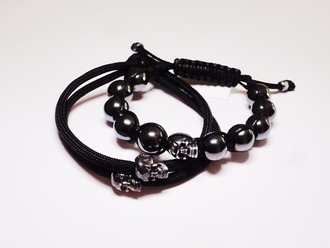 jewels style girl black skull accessories jewelry young