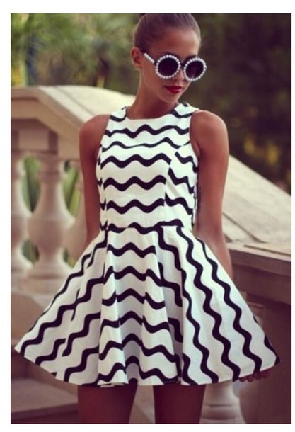 dress black and white dress dream closet couture style love that dress