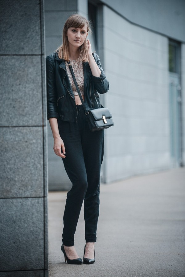 katiquette top jacket pants shoes bag