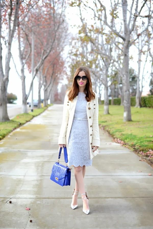 m loves m dress coat shoes bag sunglasses jewels