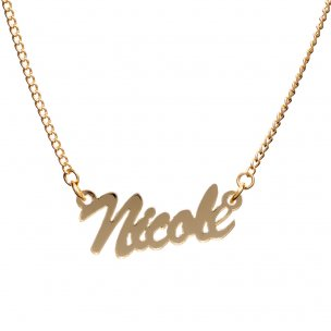 Carrie Necklace | Name Necklaces | Personalised Necklace
