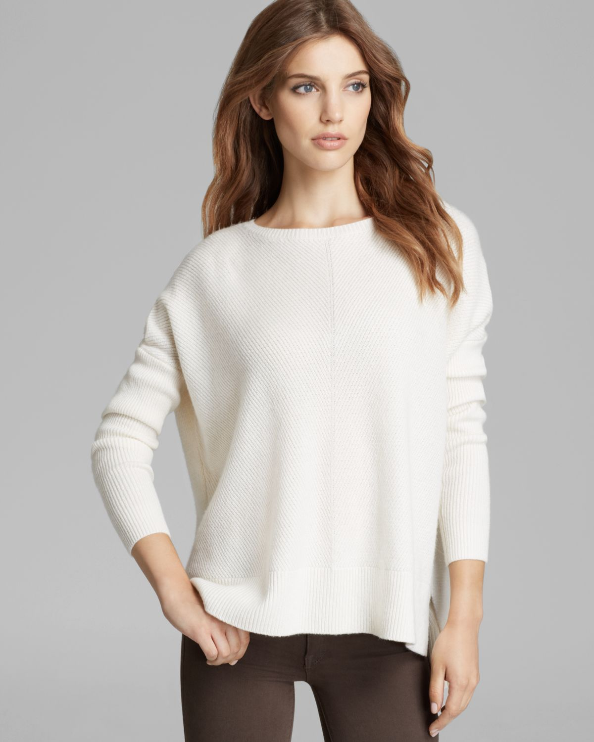 Vince Sweater - Chevron Wool-Cashmere | Bloomingdale's