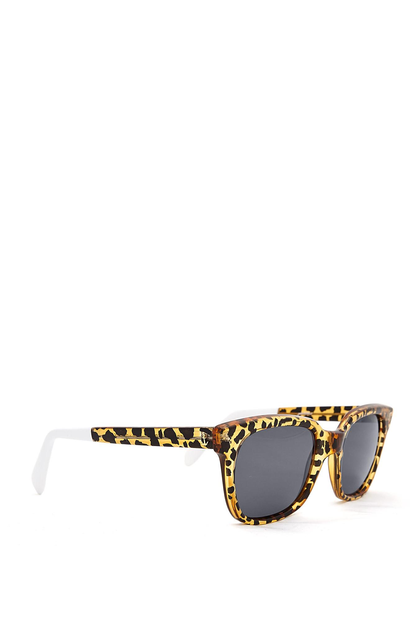 Sheriff & Cherry | Honey Wild Cat Leopard Plastic Sunglasses by Sheriff & Cherr