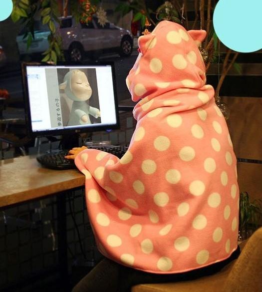 Manta Gato / Cat Blanket 2WH236 from Kawaii Clothing on Storenvy
