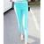 Candy Color Elastic Slim High Waistt Leggings on Luulla