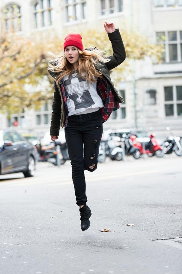 fashion gamble jeans shirt blouse shoes hat