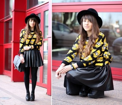 yourfashionsandcute | Simpson Graphic Sweater | Online Store Powered by Storenvy
