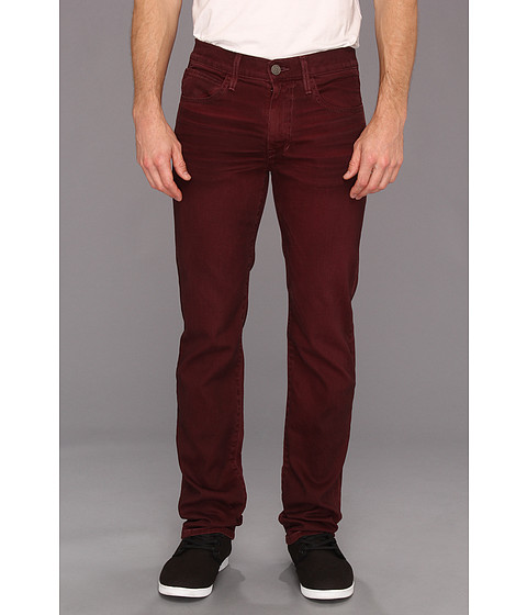 Joe's Jeans Brixton Straight & Narrow in Oil Slick Colors Merlot - Zappos.com Free Shipping BOTH Ways