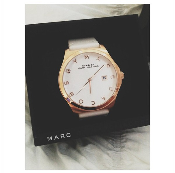 marc jacobs watch gold luxury tumblr cute classy prada valentines day gift idea jewels