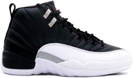 Air Jordan Original - OG 12 (XII) Playoffs Black / Varsity Red - White - Metallic Silver   SneakerFiles
